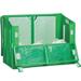 自立ゴミ枠II 折りたたみ式 緑【受注生産】