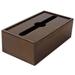 木製ペーパータオルホルダー ウッディ(M1)オークブラウン(壁付/卓上兼用)