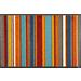 玄関マット Stripes burnt orange