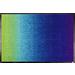 玄関マット Blue Rainbow