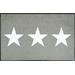 玄関マット Stars sand 75x120cm