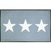 玄関マット Stars grey 75x120cm