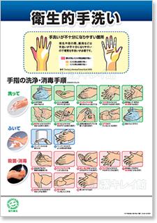 手洗い重点管理(HACCP)ポスター(15)
